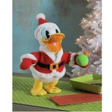 Hallmark Cozy Christmas Pull My Hat Donald Duck Plush with Sound and Motion, 14.5""