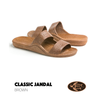 Pali Hawaii Classic Jandal Medium Brown Two Straps Unisex  Adult Sandals
