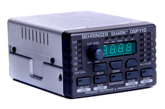 Behringer - DSP110 Shark- Feedback Destroyer
