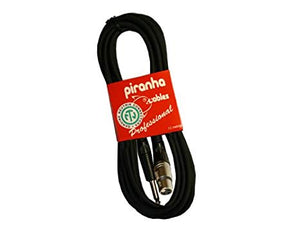 Piranha XLR Female / 6.3mm TRS Jack 5M