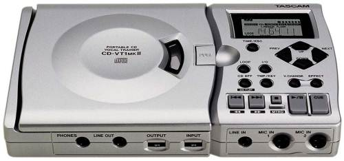 CD-VT1 Portable CD Vocal Trainer