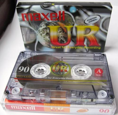 Maxell UR90 Audio Cassette 10 Pack - OUT of Stock but other lengths available - please ring to check stocks