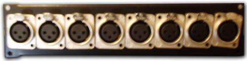Neutrik XLR Female Plate