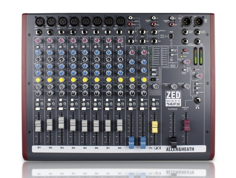 Allen & Heath - ZED60-14FX Mixer