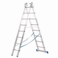 Zarges - Skymaster Industrial 3 Part, 8 Rung Ladder
