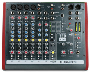 Allen & Heath - ZED 10FX Mixer