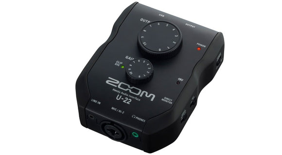 Zoom - U22 - Audio interface