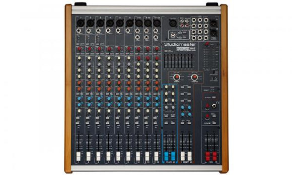 Studiomaster - Horizon 2012 Powered Mixer