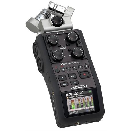 Zoom - H6 - 2GB  Digital Recorder (new)