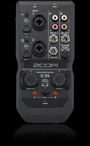 Zoom - U24 - Audio interface