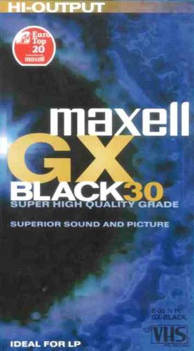 Maxell VHS Tape