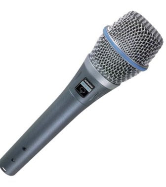 SHURE Beta 87A Vocal Mic with free 5m XLR Lead