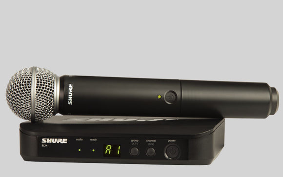 SHURE - SM58 Wireless Mic with receiver