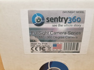 *NEW* Sentry 360 FS-IP10K-DN 360 Degree Camera 10MP