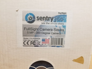 *NEW* Sentry 360 FS-IP5000-DN 360 Degree Camera 5MP