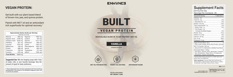 BUILT - Natural Vegan Protein