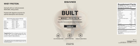 BUILT - Natural Whey Protein