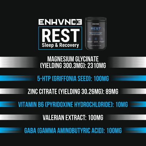 REST - Sleep & Recovery
