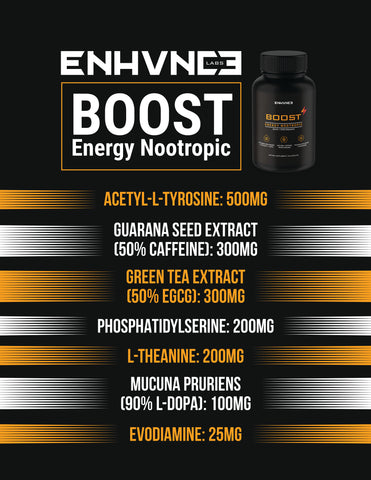 BOOST - Energy Nootropic