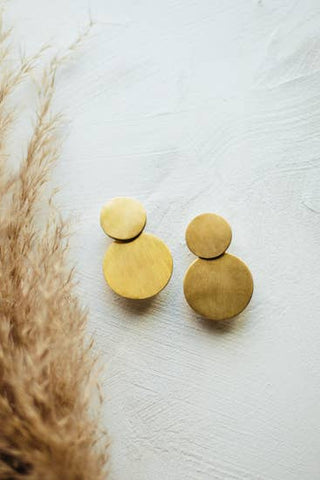 Circle Earrings (2 Sizes)