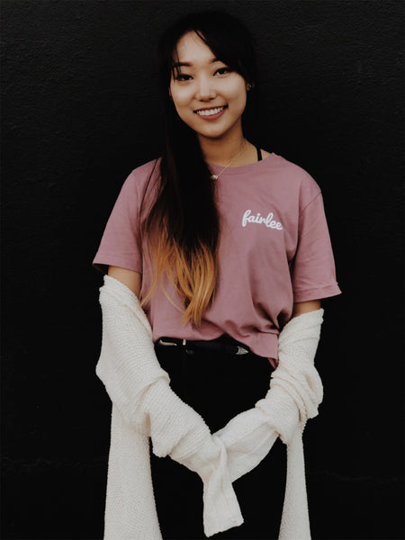 Dusty Rose Tee