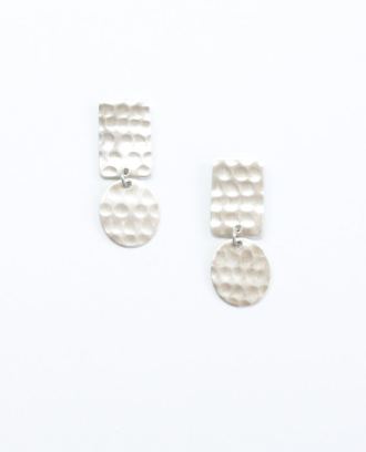 Hammered Shapes Earrings