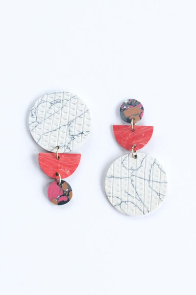Switcheroo Clay Earrings
