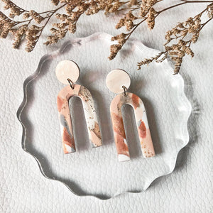 Copper Quartz Arch Dangles (Long)