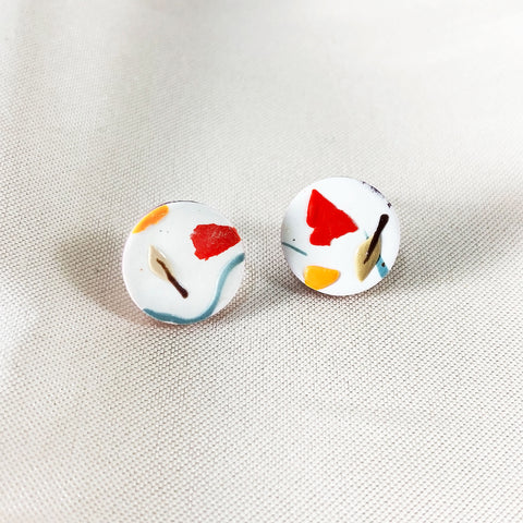 Falling Leaves Medium Studs