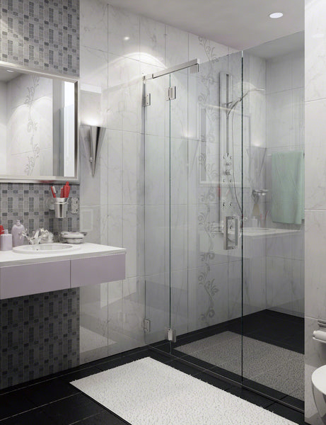 Frameless, Semi-Frameless and Framed Shower Enclosures