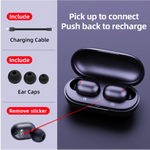 Fingerprint Touch Bluetooth HD Wireless Earphones