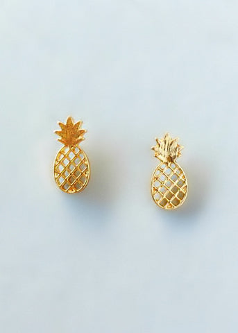 Maldives Pineapple Earrings