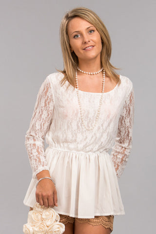 French Lace Blouse