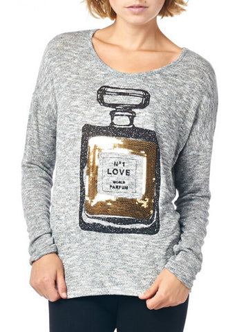 Love Potion Sequin Top