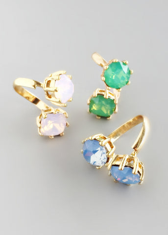 Alexia Crystal Rings