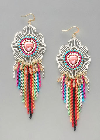 Silk Road Statement Earrings