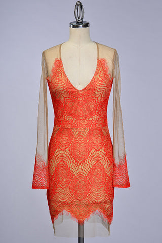 Sultry Spanish Lace Dress