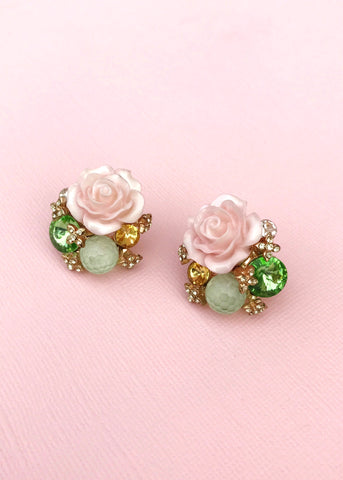 Secret Rose Garden Earrings