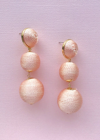 Blushing Pink Earrings