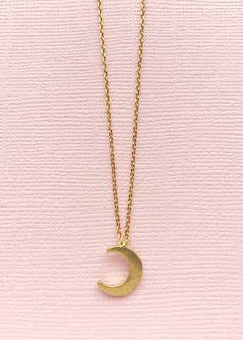 Sweet Moon Necklace