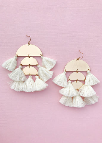 Seychelles Tassel Earrings