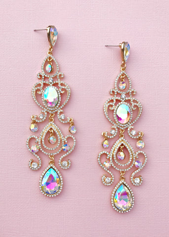 Dazzling Rosalie Earrings