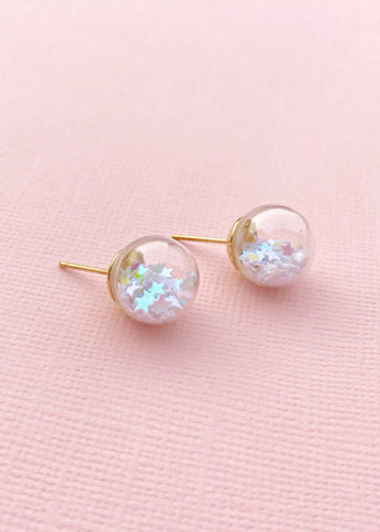 Confetti Glass Earrings