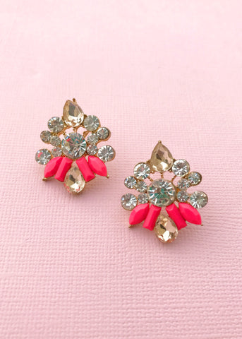 Lili Rose Stud Earrings