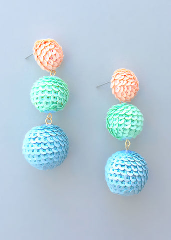 Polynesia Sequin Earrings