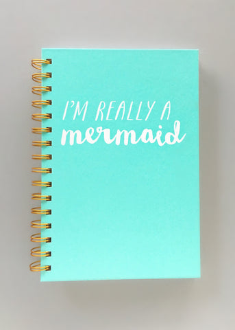 I Am A Mermaid Journal