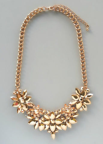 Alexia Rose Gold Necklace