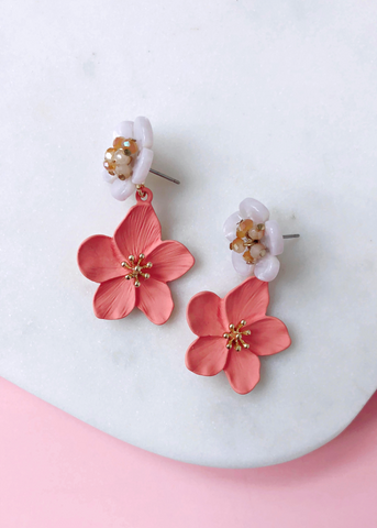Mandy Floral Earrings