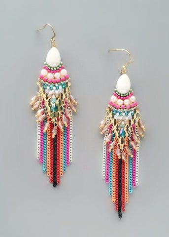 Zohra Statement Earrings