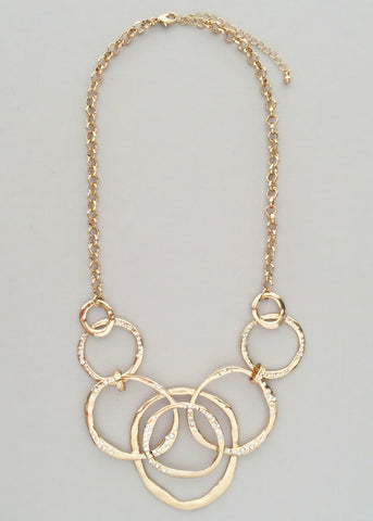 Golden Sparkles Necklace